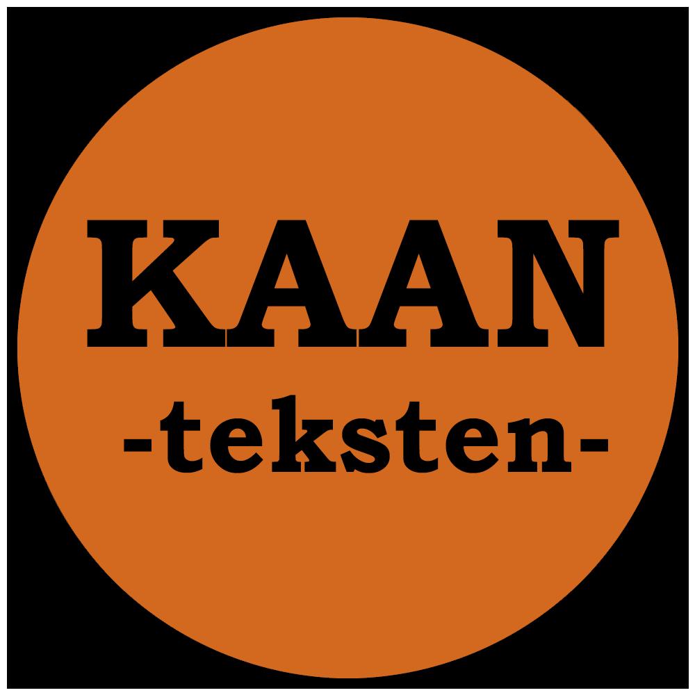 Logo Kaan teksten tekstbureau